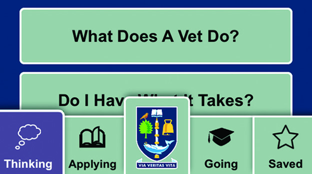 Ten-minute chat - developing 'Be a vet' app