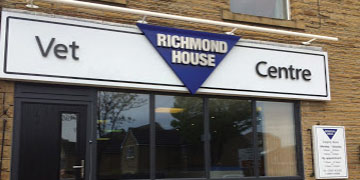 Richmond House Veterinary Centre logo