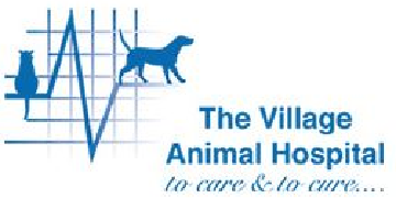 The Village Animal Hospital. logo
