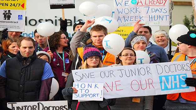 As a young vet, I empathise with junior doctors