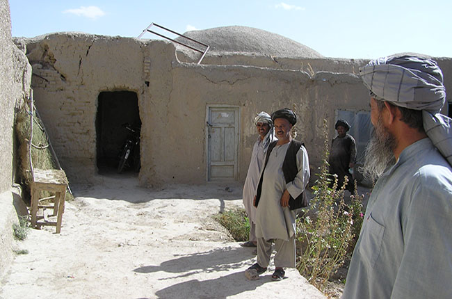 The old clinic in Afganistan
