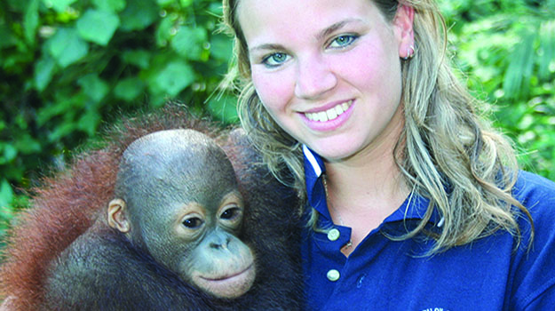 A look at the career of a wildlife and exotics vet