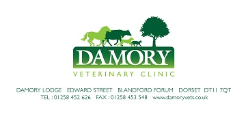 Damory Veterinary Clinic logo