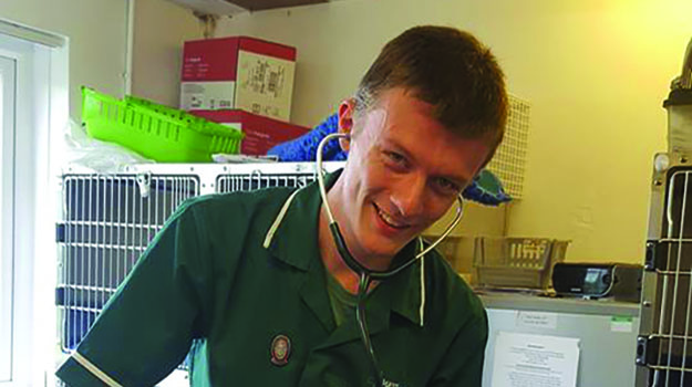 Gavin Goldsbrough on being a newly qualified and newly registered vet nurse
