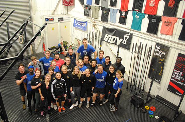 Holly Sutton weightlifting competition