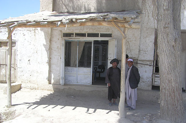 New clinic built in Afghanistan